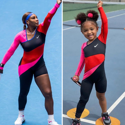 Serena Williams and daughter Alexis Olympia Ohanian Jr.