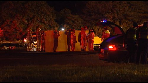 Two men were killed in a head-on crash in Mount Eliza overnight.