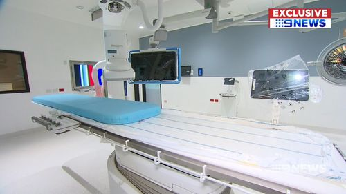 The hospital is operated by Healthscope, with a mixture of public and private beds. Picture: 9NEWS