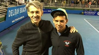 Father and son 'attacked' leaving Australian Open