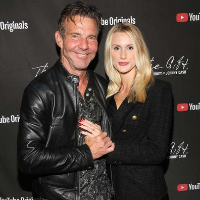 Dennis Quaid and Laura Savoie in November 10, 2019.