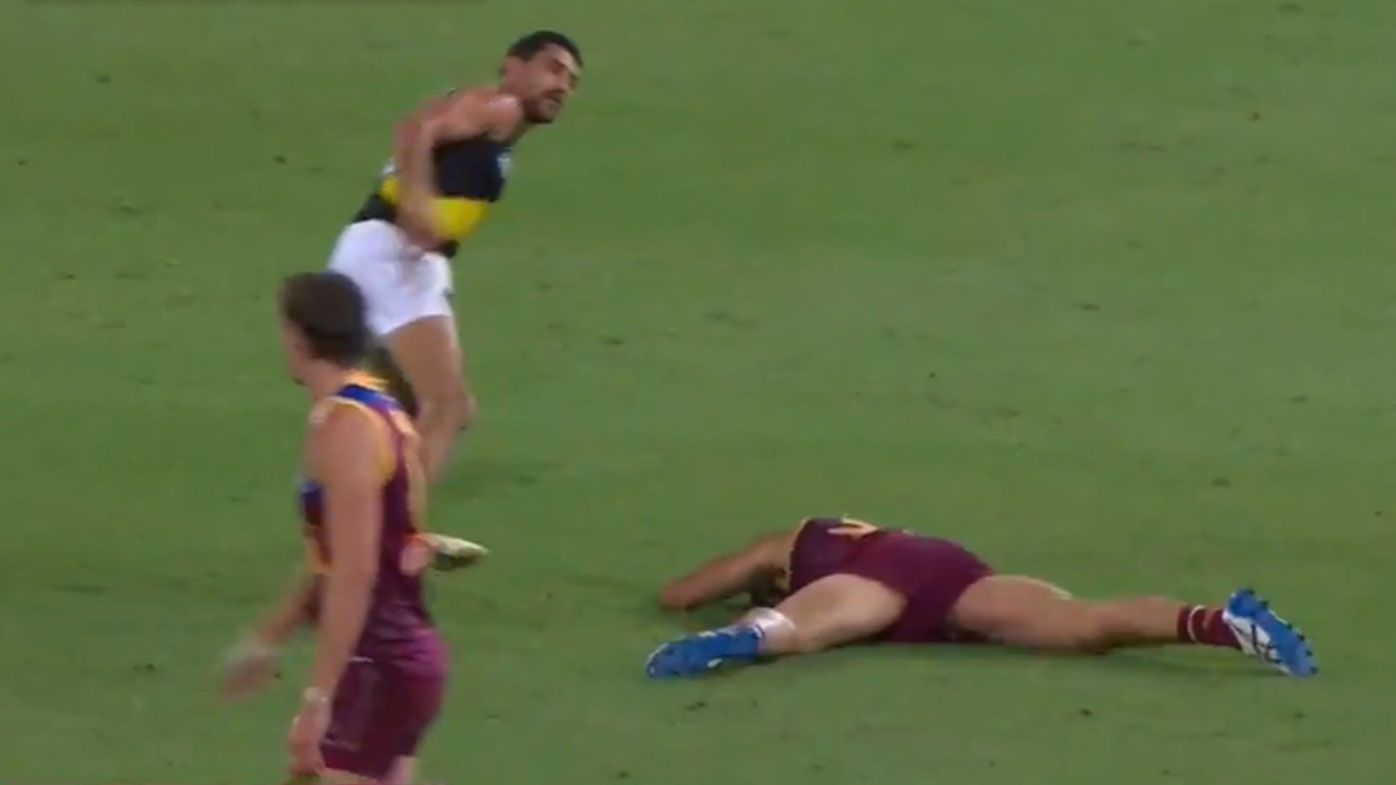 Marlion Pickett handed one-match ban for late, high hit on Brandon Starcevich