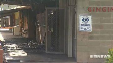 Blaze destroys Perth district's only high school.