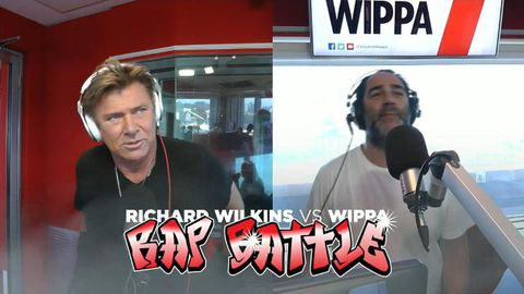 Richard Wilkins roasted by radio host Wippa in rap battle