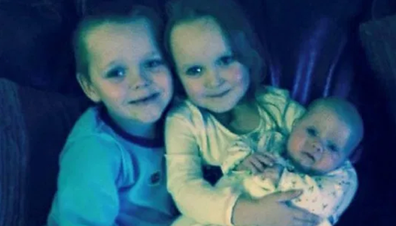 Brandon, was eight, Lacie, seven and Lia Pearson, three, when they died in the fire.