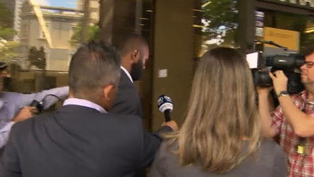 Radradra arrives for court hearing