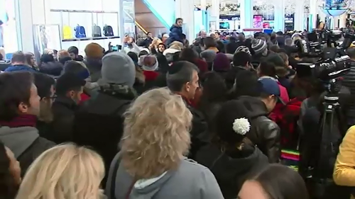 Shoppers in the US have already forked out over A$5 billion at Black Friday sales, officially kicking off the holiday shopping period.