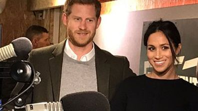 Prince Harry and Meghan Markle visit Reprezent radio station at POP Brixton, London January 2018