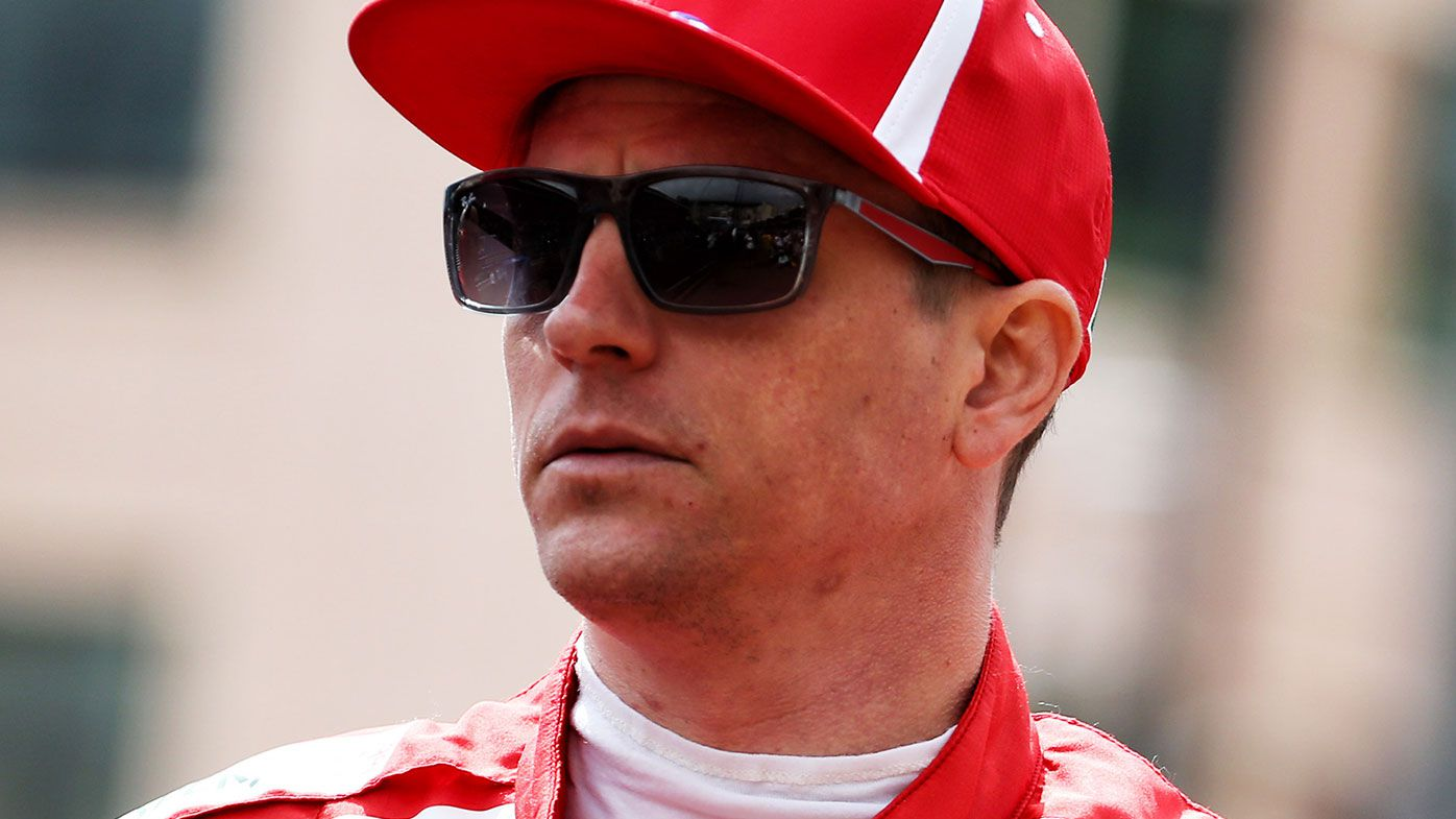Ferrari Formula One driver Kimi Raikkonen