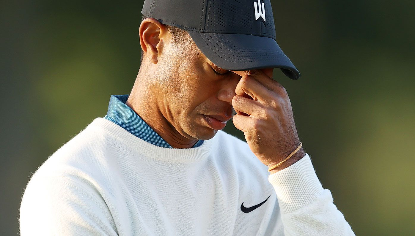 Tiger Woods has missed the cut at the US Open.