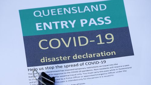 A Queensland Entry Pass is now required to cross the border.