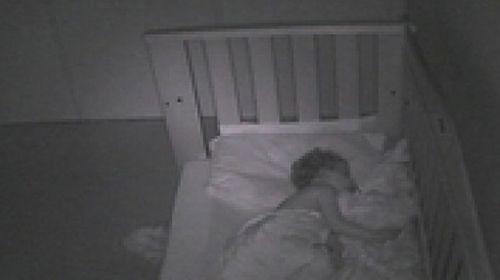 Live video of sleeping Aussie babies has been targeted by Russian hackers. (Webcam)