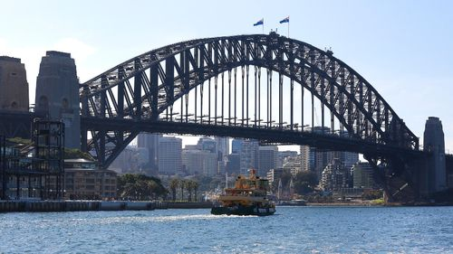 The Sydney Harbour Bridge has cemented itself as an internationally recognisable symbol of Australia. (Getty Images)