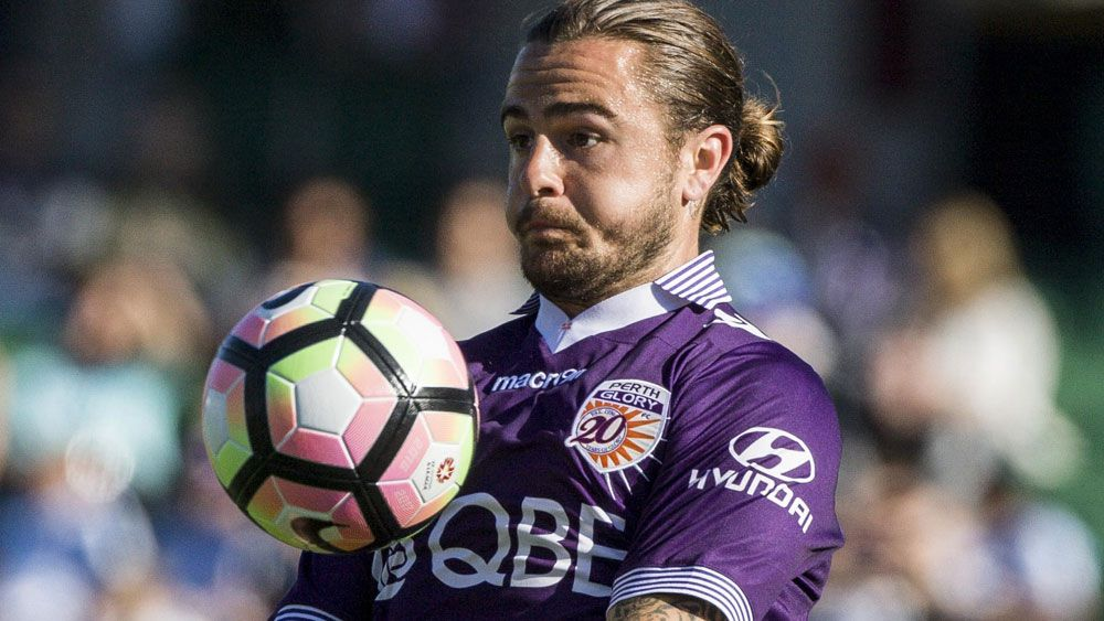 Josh Risdon's Socceroos hopes will go on the line. (AAP)