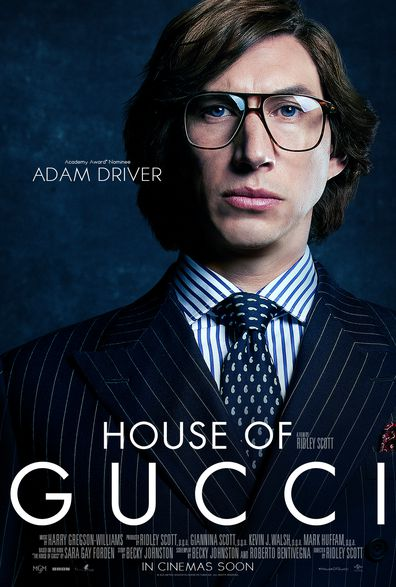 Adam Driver plays Maurizio Gucci in House of Gucci.