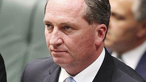 Barnaby Joyce. (AAP)