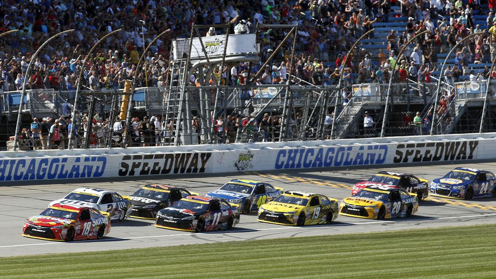 NASCAR was called the most racially segregated sport in the US. (AAP)