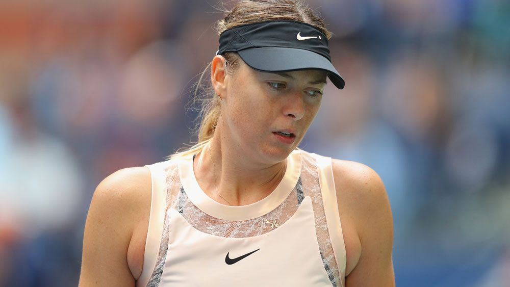 Maria Sharapova crashes out of US Open following loss to Anastasija Sevastova