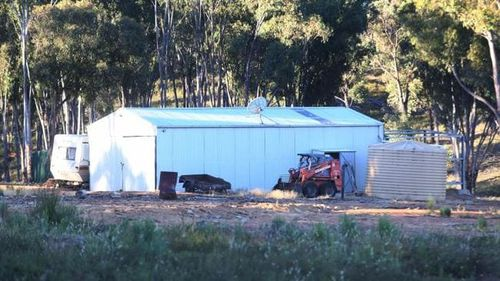 "These images show the home of the ""Colt"" family in the Griffith area."