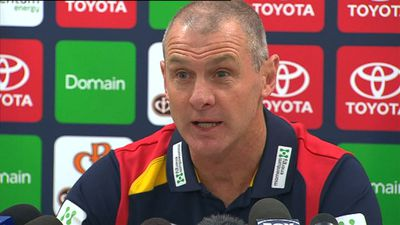 In October last year, Walsh was appointed head coach of the Adelaide Crows on a three-year deal.