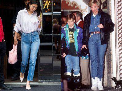 Kendall Jenner and Princess Diana