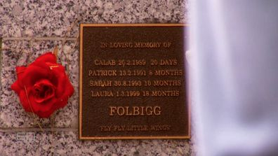 Caleb, Patrick, Sarah and Laura  suddenly died, one after the other, over a ten-year period from 1989.
