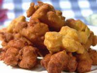 Spicy Potato Pakoras With Coriander Raita - PAMELA CLARK