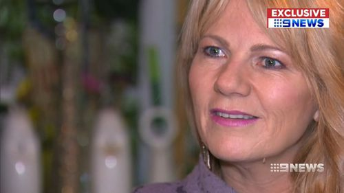 Sonia Anderson did not know details of her daughter's murder until she read them in the book. Picture: 9NEWS