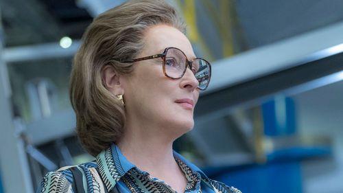 Meryl Streep as Katharine Graham in The Post. (AAP)