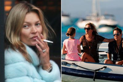 "Mossy got all stressed without her electronic cigarettes... so she flew her driver first-class from London to Formentera, where she was holidaying with her husband Jamie Hince and daughter Lila Grace.<br/><br/>According to <i>The Mirror</i>, the supermodel tried to buy the cigarette substitutes in Spain, but ""couldn't find a recognisable brand"".<br/><br/>Images: Splash"