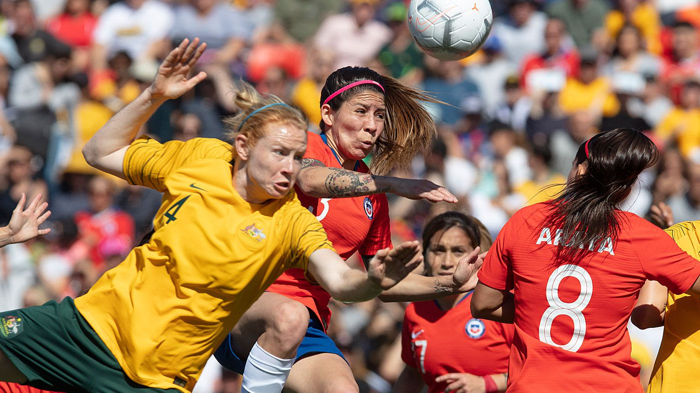 Chile stun Matildas in front of sell-out crowd in Penrith