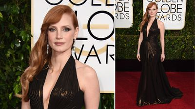Jessica Chastain. (AAP)