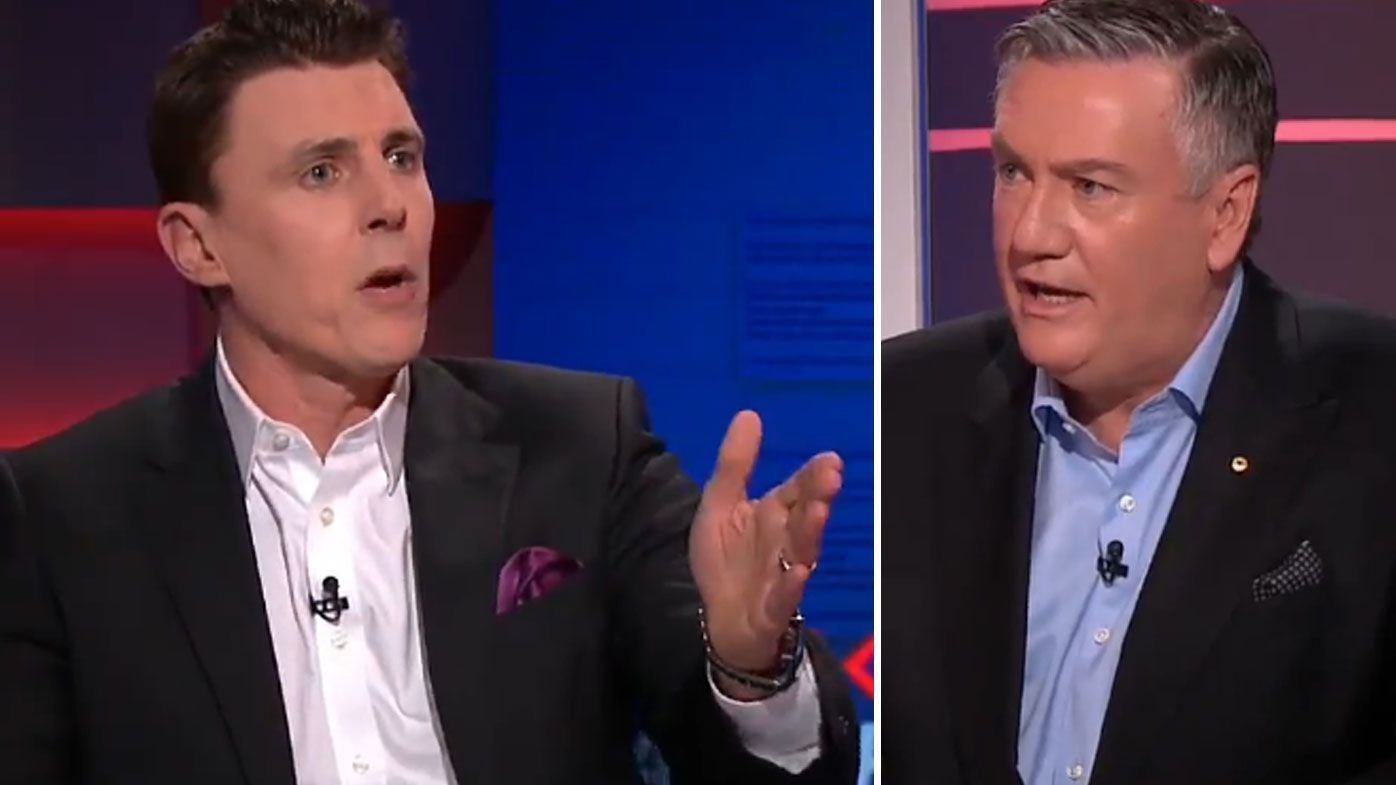 Eddie McGuire and Matthew Lloyd's fiery exchange over Steele Sidebottom vice-captaincy