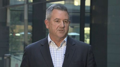 Telstra Group Managing Director Mark Wright has apologised to customers over the latest outage. (9NEWS)