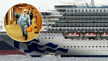Cruise SHip quarantined