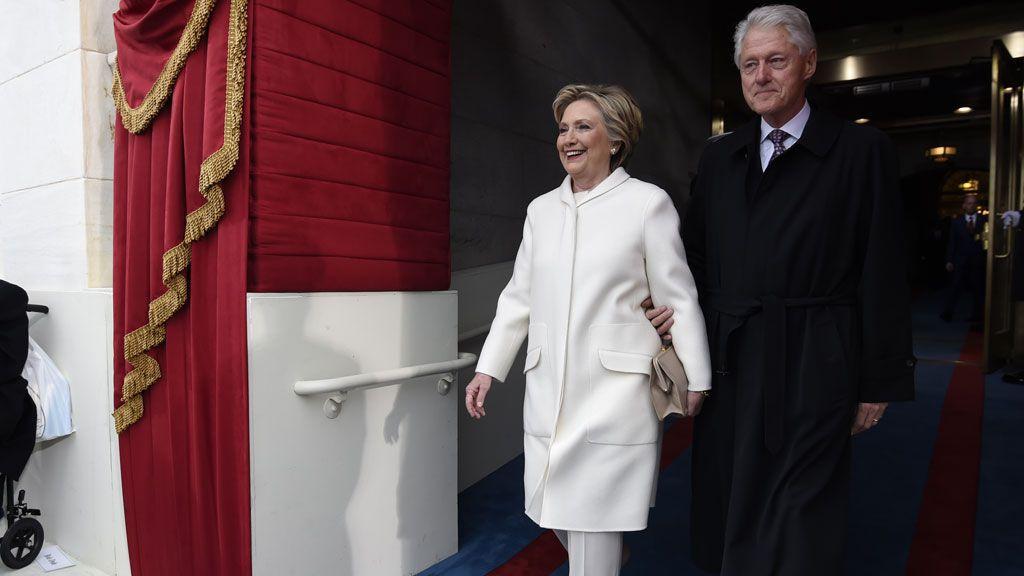 Hillary Clinton Donald Trump inauguration
