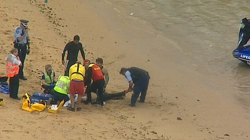 He was wearing a life jacket. (9NEWS)
