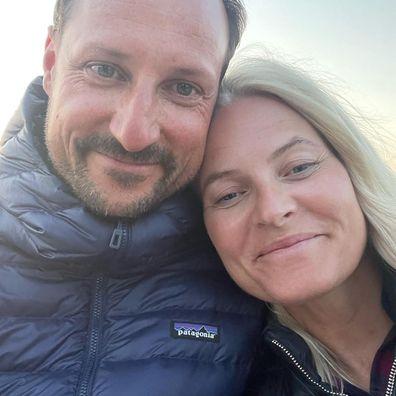 Crown Prince Haakon and Princess Mette-Marit of Norway