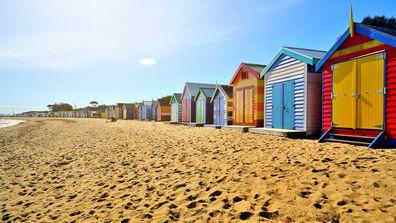 Beach boxes Mornington
