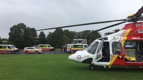 Boy, 12, in an induced coma after being pulled unconscious from NSW swimming pool