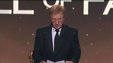Kerry O'Brien is inducted into the Logie Hall of Fame