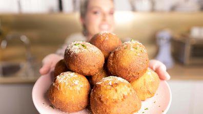 Jane de Graaff's mashed potato doughnuts