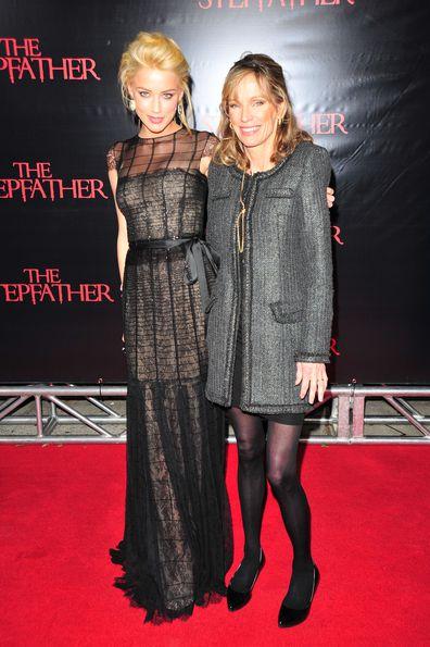 Amber Heard and Patricia Heard