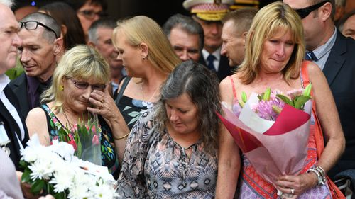 Victims, their families and many others affected by the 1978 Hilton Hotel bombings gathered today to pay their respects on the 40th anniversary of the attack (AAP).