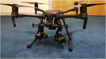 Victoria Police are set to launch drones to monitor the skies during large sporting events and search and rescue.