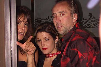 Lisa-Marie didn't last much longer with her second husband Nicolas Cage. But at least the wedding was a success - the pair were married in a beautiful ceremony on a Hawaiian beach in July 2002. By November the pair had filed for divorce.