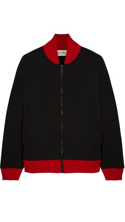 "<a href=""http://www.theoutnet.com/en-AU/product/Etre-Cecile/Neoprene-bomber-jacket/551596"">Neoprene Bomber Jacket, $138, Etre Cecile</a>"