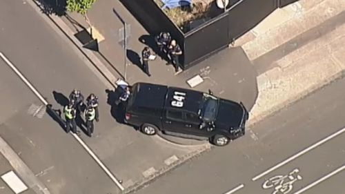 Police were called to Drummond Street in Carlton about 2.45pm.