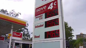 The price of fuel has drivers seeing red. (9NEWS)