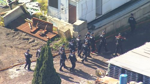 Raids took place across NSW this morning in relation to a transnational drug ring.